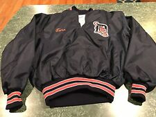Vintage DeLong DETROIT TIGERS Widbreaker Pullover Jacket ADULT Size XL *RARE*