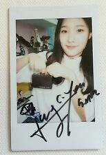 *RARE* DIA 2nd mini album HAPPY ENDING OFFICIAL HAND SIGNED POLAROID CHAEYEON