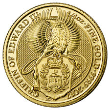 2017 Great Britain 25 Pounds 1/4 oz. Gold Queen's Beasts - Griffin SKU44961