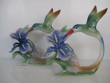 RARE FRANZ  HUMMING BIRD  NAPKIN RINGS  PAIR FZ00598UK