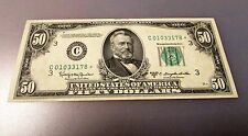 1950D 50 Dollar STAR Note * Beautiful Condition RARE FREE SHIPPING