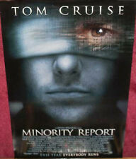 Cinema Poster: MINORITY REPORT 2002 (Blindfold One Sheet) Tom Cruise