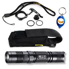 Nitecore P12 LED Flashlight 2015 Version 1000lm w/FREE A&A keychain light