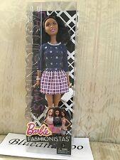 Barbie Dolls Fashionistas Nikki American Silver Stars DGF21 New HTF