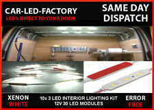 INTERIOR LED LAMP LIGHTING UPGRADE 30 LED 10x 3 LED MODULES IDEAL FOR VANS