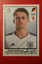 Panini EURO 2012 N. 246 DEUTSCHLAND SCHURRLE NEW With BLACK BACK TOPMINT!!