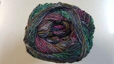 Noro Silk Garden Sock Yarn #S413 Burgundy Green Brown 100g