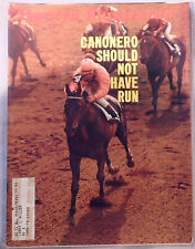 1971 Sports Illustrated Canonero Gustavo Avila