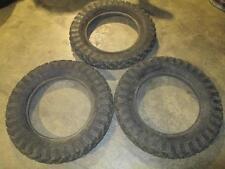 3 NOS 5.25/5.50/18 Vacuum Cup Cord Balloon Tires Pennsylvania Rubber Company