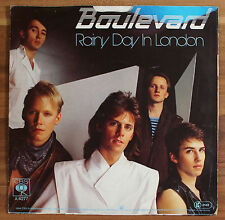 "Single 7"" Vinyl Boulevard - Rainy Day in London CBS A4277"