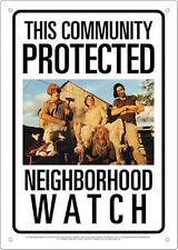 This Community Protected By The Texas Chainsaw Massacre Photo Tin Sign Poster