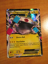 NM Pokemon MAGNEZONE EX Card FLASHFIRE Set 35/106 XY X and Y Ultra Rare 180 HP