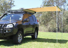 2.5 X 3m AWNING ROOF TOP TENT CAMPER TRAILER 4WD 4X4 CAMPING CAR RACK Pull Out