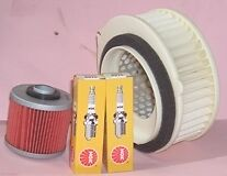 Plugs Air & Oil filter for YAMAHA XVS XVS650 Drag Star & V-Star models 1997-13