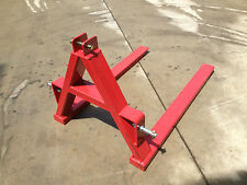 New 750kg Tracmaxx rear fork lift carriage for tractor, 3PL fork tynes