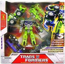 Transformers Construction Devastator 5 Pack New Sealed