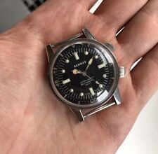 Rare Vintage Benrus Ultra Deep 666ft Automatic Divers Watch US Military Markings