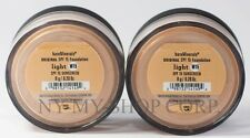 Bare Minerals Escentuals SPF 15 Original Foundation Light W15 8g XL - PACK OF 2