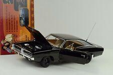 1969 Dodge Charger General Lee the Dukes of Hazard schwarz 1:18 Ertl Auto World