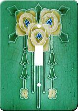 Art Nouveau Vintage Metal Switch Light Cover plate #13