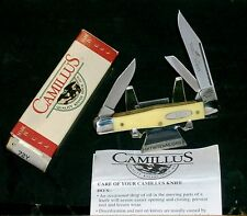 "Camillus 72Y Carpenters Whittler Inscribed Yello Jaket 3-5/8"" Packaging & Papers"