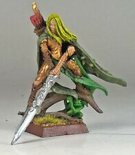 Wood Elves Hero Lord Waystrider Wanderer Metal OOP Painted Warhammer Age Sigmar