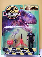 Jurassic Park THE LOST WORLD - IAN MALCOLM  Chaos Expert  Kenner 1996 MOC HTF