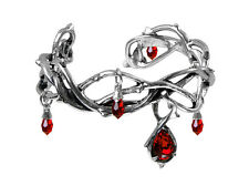 Passion Bracelet - Alchemy Gothic Thorns/Blood drops Jewellery A80