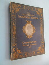 "1937 ""THE ILLUSTRATED LONDON NEWS, CORONATION"", GREAT OLD ADS, 100s OF PHOTOS"