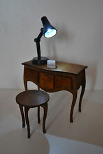 Set console bedside table & chair & lamp Furniture for Dolls 1:6 1/6  FR Barbie