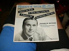 Charlie Spivak Camden EP 45 Record #301 EX HS Learnin The Blues / Something's