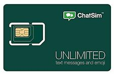ChatSim Unlimited - Global SIM card to chat with WhatsApp Telegram and other ...