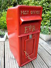 Royal Mail Post Box ERII box Red Cast iron post office box Best