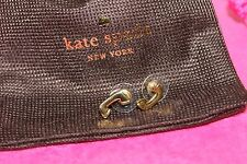 "KATE SPADE NEW YORK ""HOLD THE PHONE"" GOLDEN STUD EARRINGS 100% AUTHENTIC CUTE"