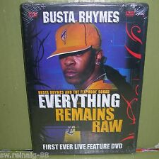 BUSTA RHYMES & The Flipmode Squad EVERYTHING REMAINS RAW Live Concert 2004 DVD