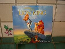 WALT DISNEY MASTERPIECE THE LION KING LASERDISC