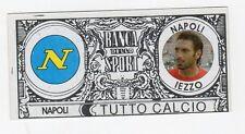 figurina BANCA DELLO SPORT TUTTO CALCIO 2008/2009 NAPOLI IEZZO