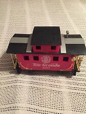 Scientific Toys Caboose G Scale Rio-Grande 4067 Train Car Red
