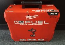 "MILWAUKEE 2704-22 M18 FUEL CORDLESS LI-ION 1/2"" HAMMER DRILL/DRIVER TOOL KIT"