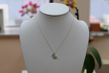 Tiffany & Co. Sterling Silver Butterfly Pendant and Chain Necklace 18.00""