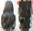 "24"" 26"" 120g 140g Full head clip in hair extensions 8 Pcs any color Long new hot"