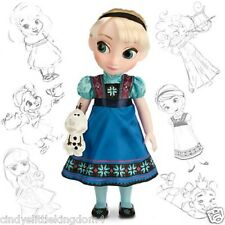 New Disney Store Frozen Elsa Animator Collection doll 38cm tall Age 3+