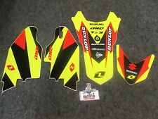 Suzuki RMZ250 2010-2016 One Industries front,rear fender+ fork graphics 1G10