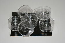 40 Tealight Candle Moulds. Polycarbonate. For making tealight candles