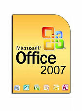 Office 2007 per 3 Utenti Licenza a vita 9 programmi Inc Word EXCEL Outlook ecc.