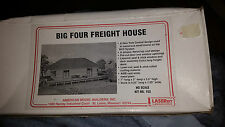 HO American Model Builders Big Four Freight House Laser Kit #152