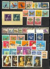 Ecuador Scott 645 // 831 Mint NH (12 complete items) Catalog Value $81.45
