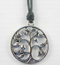 "Tree of Life Sacred Tree Sacred Oak Pendant Necklace / Choker Unisex 16"" to 24"""