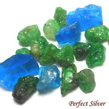 11.15 ct. 21 P. Unheated Natural Emerald Colombia & Blue Apatite @ FREE SHIP