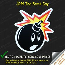 JDM Bomb Grenade Guy Bombmer man Luggage Sticker Skateboard Car Bike Scooter L2